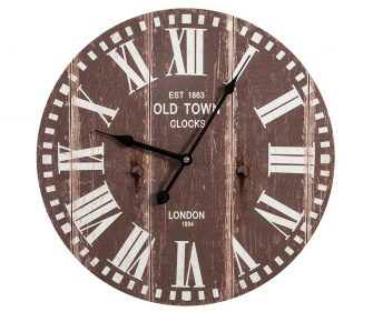 Retro Orologio Old Town Brown