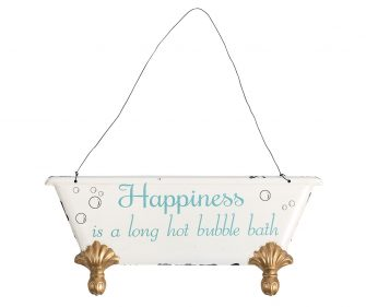 "Placca decorativa ""Retro"" Happyness"